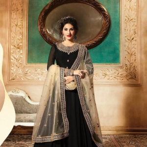 Black Anarkali Suits Details