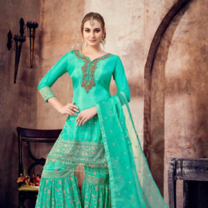 Buy Green Sharara online