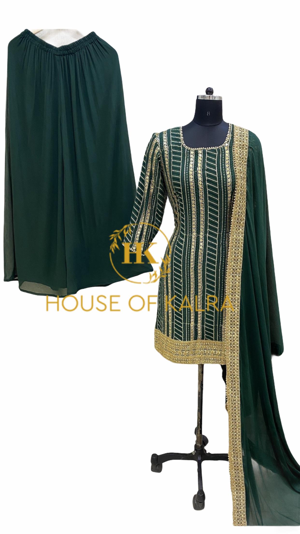 Indian wedding sharara dresses