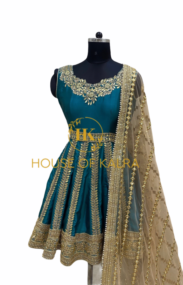 bridal Anarkali suit online shopping at House Of Kalra.