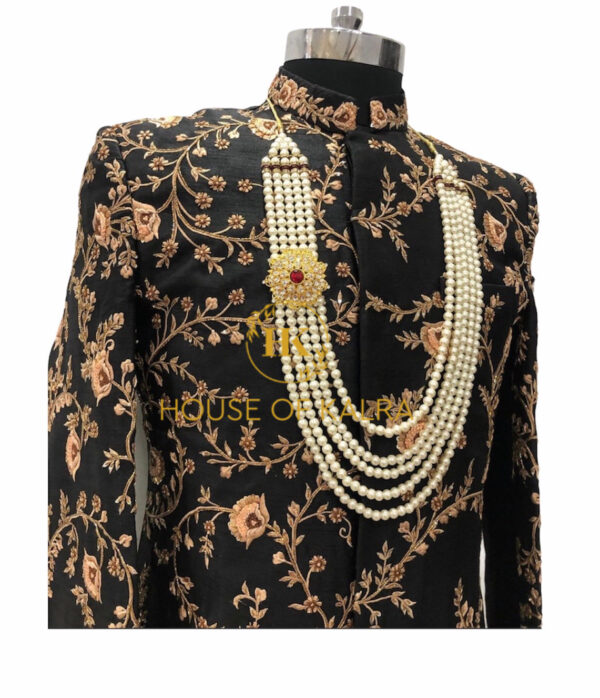 Indian wedding sherwani for groom