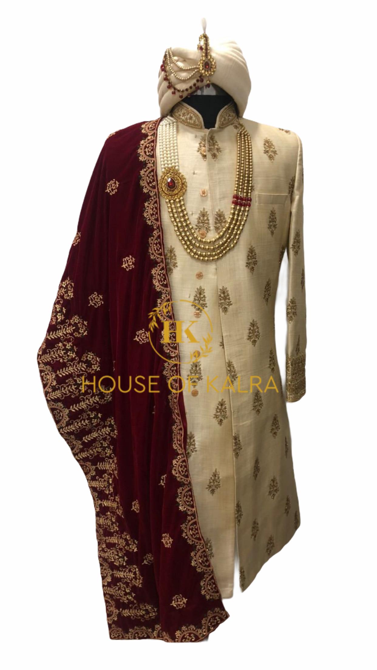 Designer clothes for indian groom