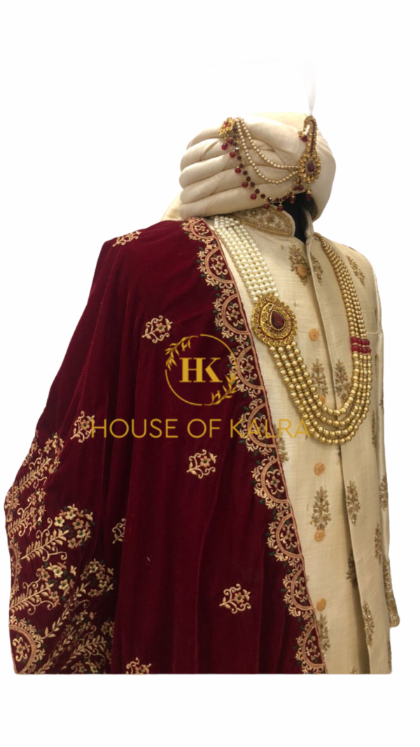 Indian sherwani for groom