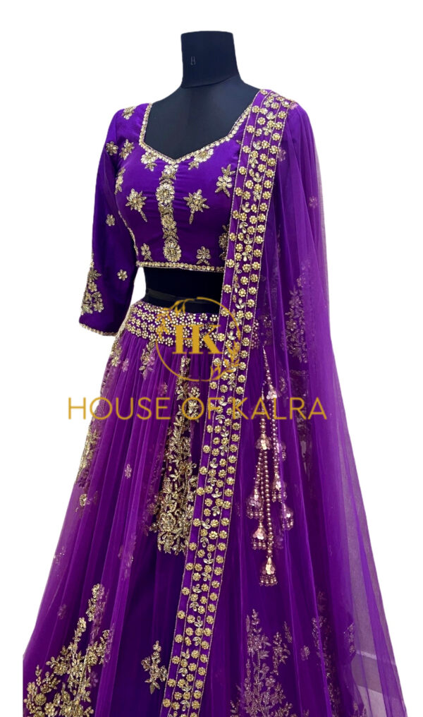 Real Indian outfits lehenga