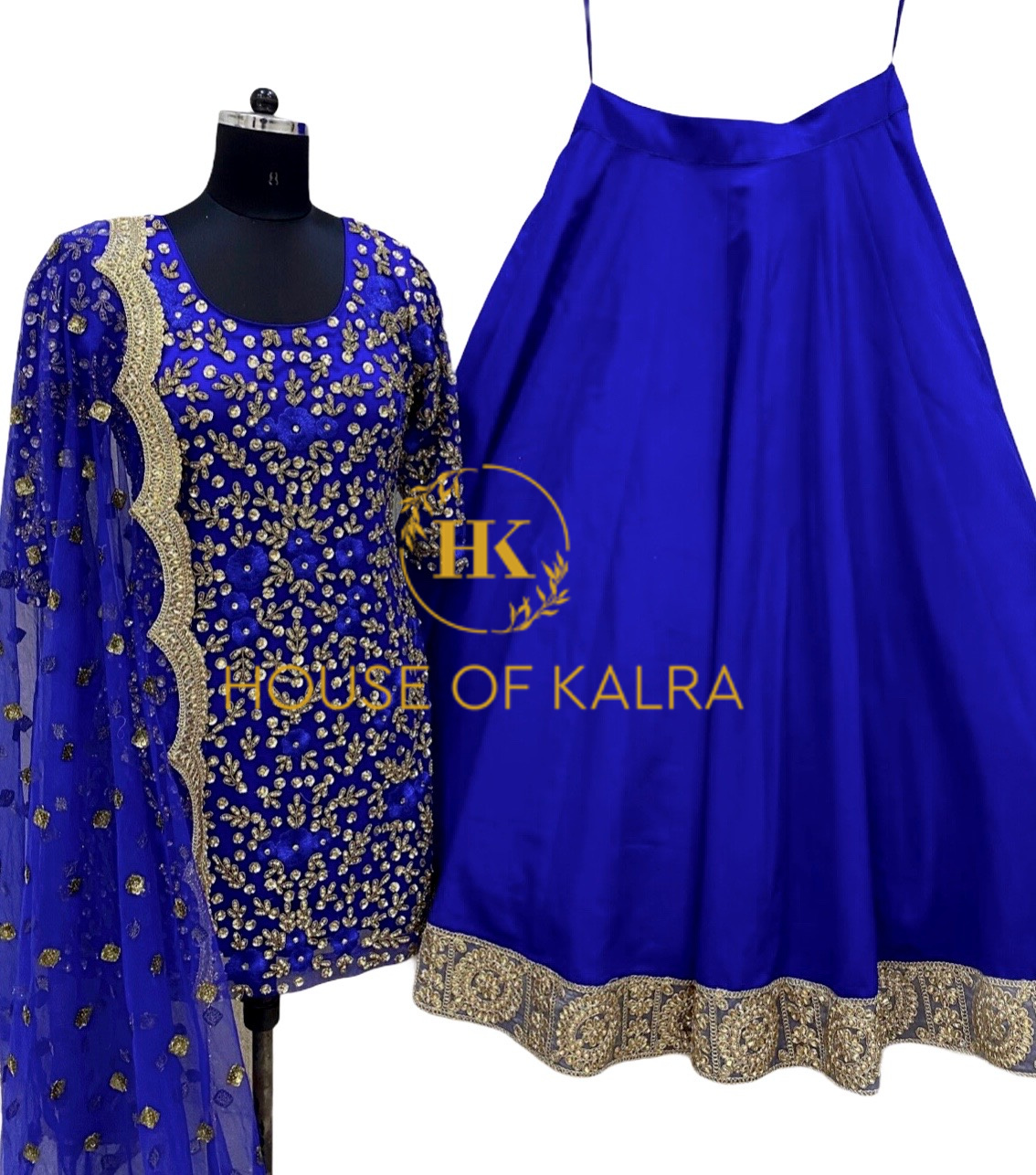 Buy Meenal Lehenga Set at House Of Kalra Online Store.