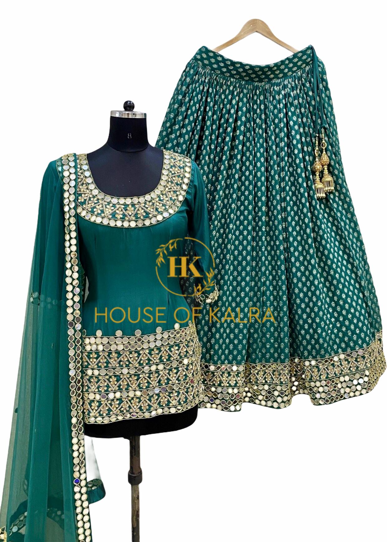 Lamhe lehnga set Indian wedding dress